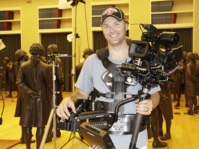 Philadelphia Steadicam Operator Adam Smith